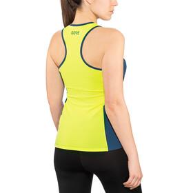 GORE WEAR R7 - Camiseta sin mangas running Mujer - verde/azul